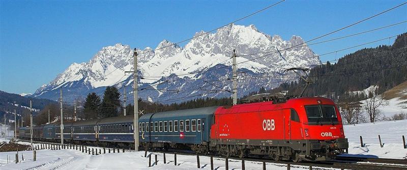 Met de trein naar Ischgl